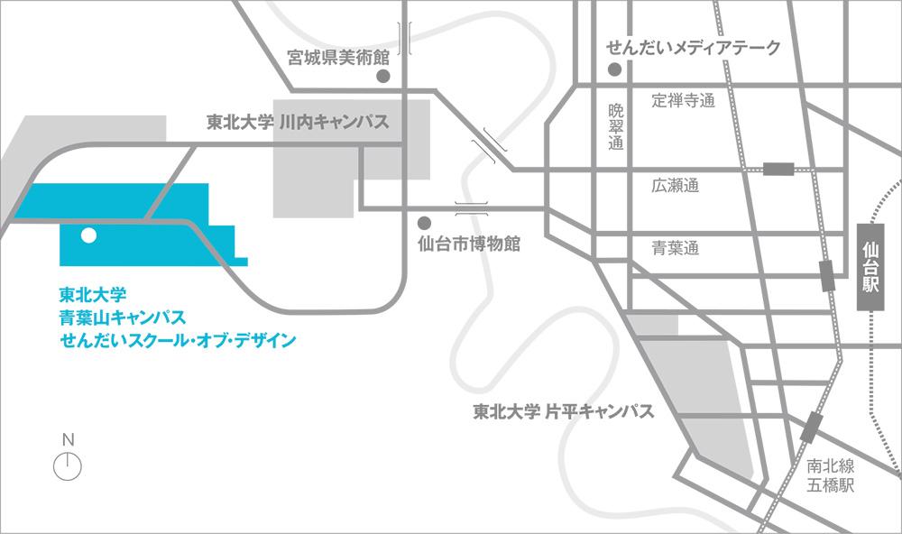 SSD地図 広域
